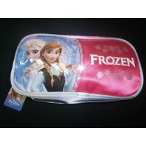 Frozen-cartuchera-canopla C/cierres-original- Elsa-anna-mira