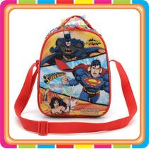 Lunchera Termica Batman Superman Liga Justicia Mundo Manias