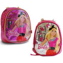 Mochila De Espalda P/jardin Infantil Escolar Barbie Jiujim