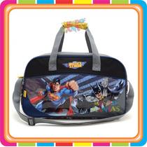 Bolso Batman Superman Liga Justicia - Mundo Manias