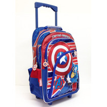 Mochila Con Carro Avengers Vengadores Con Lic.original 17