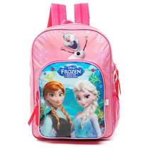 Mochila De Espalda Frozen Con Licencia Original 16