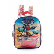 Mochila Cars - Jardin 12 Espalda -licencia Original Disney