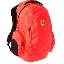 Mochila Ferrari Porta Notebook Reforzada Original Licencia *
