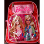 Mochila Infantil Barbie Y Otros Personajes.