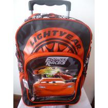 Mochila Cars C/carro 16