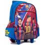 Mochila Messi- Barcelona 17 Pulgadas Carro - Lic Original
