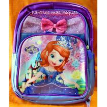 Mochilas Infantiles Barbie, Frozen, Sofía...36cm