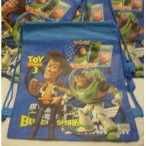Bolsas Tipo Mochilas De Toy Story !! Ideal Souvenir