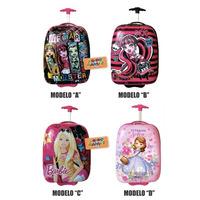 Valija Mochila Viaje Monster High Barbie Sofia Mundo Manias