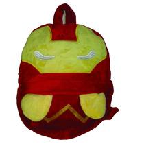 Mochila Infantil Peluche Avengers Iron Man - Hulk Jardin
