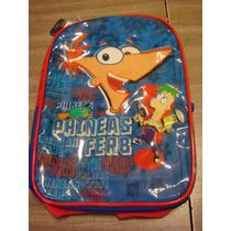 Mochila Espalda Phineas And Ferb 4938 Oferta Liquidacion