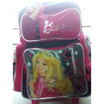 Mochila Barbie Con Carro 17pulgadas Entregas Gratis Caba