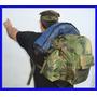 Mochila Militar 18 L En Su Version Camuflada .multiproposito