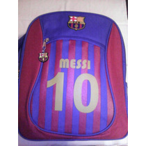 Mochila Original Barcelona!! Messi !!