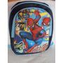 Mochilas Hombre Araña Escolares Infantiles Super Heroes 3d