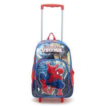 Mochila De Carrito Spiderman Con Licencia Original 16