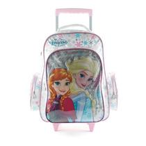 Mochila Carro Disney Princesas Frozen Elsa Anna 18´´