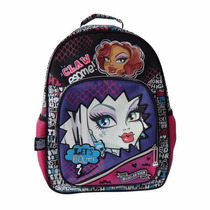 Mochila Monster High Espalda 16 Pulgadas Cresko