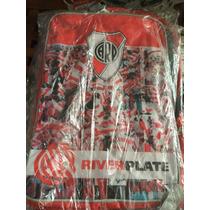 Mochila Escolar River Plate Original