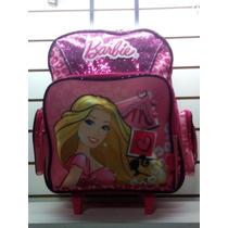Mochila Con Carro Barbie Entregas Gratis Caba