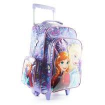 Mochila Carro Disney Princesas Frozen Elsa Anna Mundo Manias