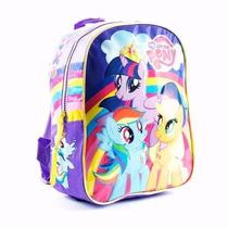 Mochila Espalda My Little Pony 12 Pulg Original - Mundo Team