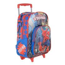 Mochila 16 Carrito Spiderman Star Wars Minions Transformers
