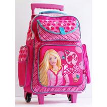 Mochila Barbie Con Carro 16701