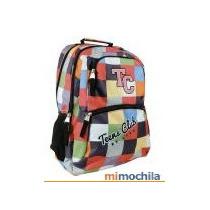 Mochilas Lsd Teens Club - Gran Capacidad!! Varios Colores