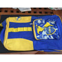 Mochila Boca Juniors Escolar- De Espalda- Original