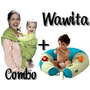 Wawita Almohadon Embarazo Lactancia + Portabebe Mochila
