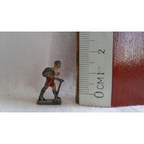 Muñeco Figura Plomo Miniatura Trekking Tambo Para Maqueta