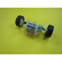 Motor Con Eje Y Rueda 6 Volt