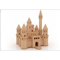 Castillo De Las Hadas Mdf Fibrofacil Día Del Niño