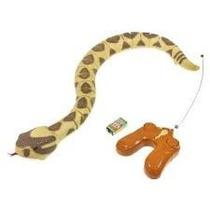 Serpiente Reptil Control Remoto Animal Planet Cascabel