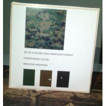 Pinturas Panzer Model Color Para Uniformes Marpat