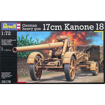 German Heavy Gun 17 Cm Kanone 18 1/72 Revell