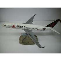 Avion De Resina Boeing 737-800 Metallica