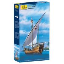 Heller Barco Carabela La Niña Model Kit Cristóbal Colón