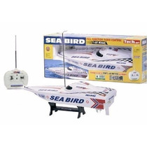 Lancha De Juguete A Radio Control Sea Bird 52cm Ideal Pileta