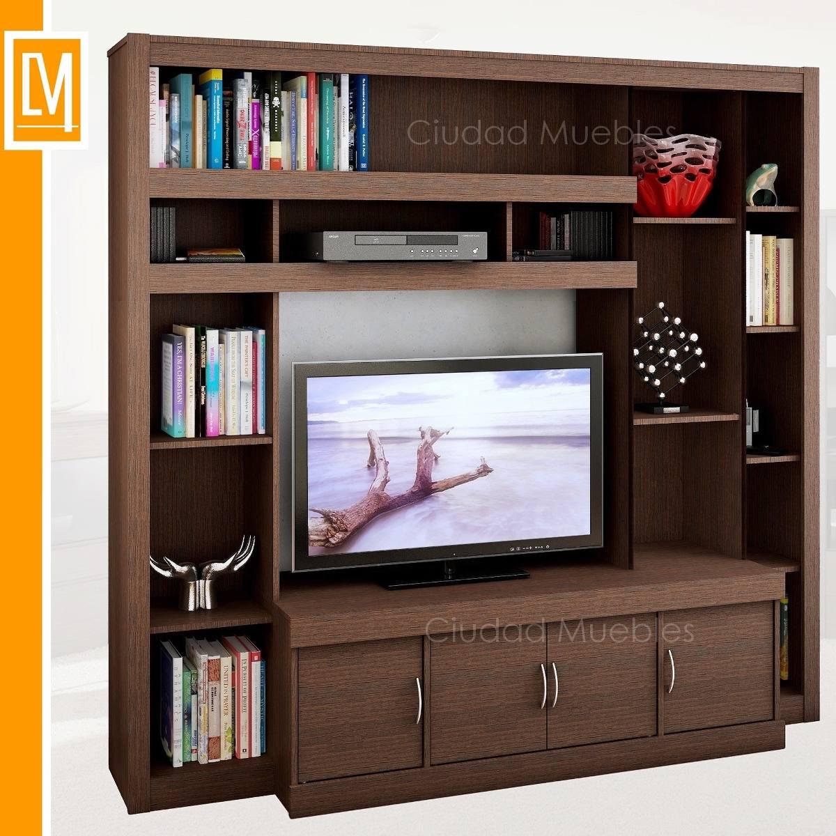 Centro de entretenimiento para tv plasma hasta 47 pulgadas for Mueble de entretenimiento para sala