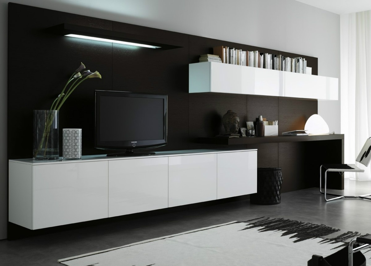 Muebles para tv de living for Modulares para tv modernos