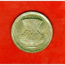 Egipto 5 Piastras 1992 - Jarron Islámico - Sin Circular -