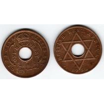 Moneda British West Africa Año 1952 De 1/2 Penny Muy Buena