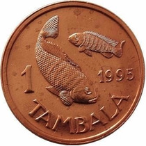 Malawi Moneda De 1 Tambala Año 1995 Km 7.2a Numismavellaneda