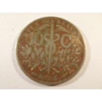 Bolivia - 10 Centavos - Año: 1908 - Alto Valor De Catálogo