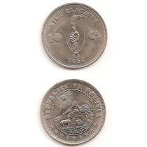 Moneda Bolivia 10 Centavos 1937 Fantastica