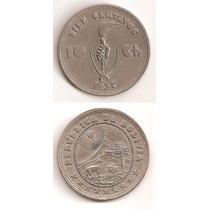 Moneda Bolivia 10 Centavos 1937 Unc