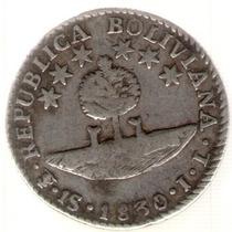 Bolivia 1 Sol 1830 J.l. Mb+